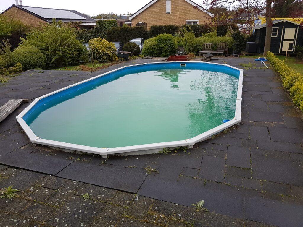 Dean Coonie zwembad vernieuwing